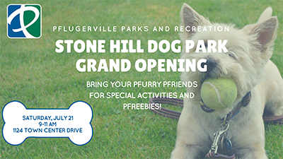 Stone Hill Dog Park Grand Opening