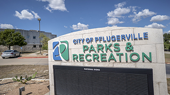 Recreation Center Sign