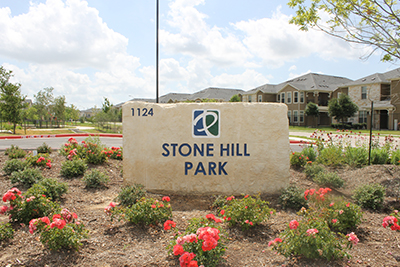 Stone Hill Park Sign