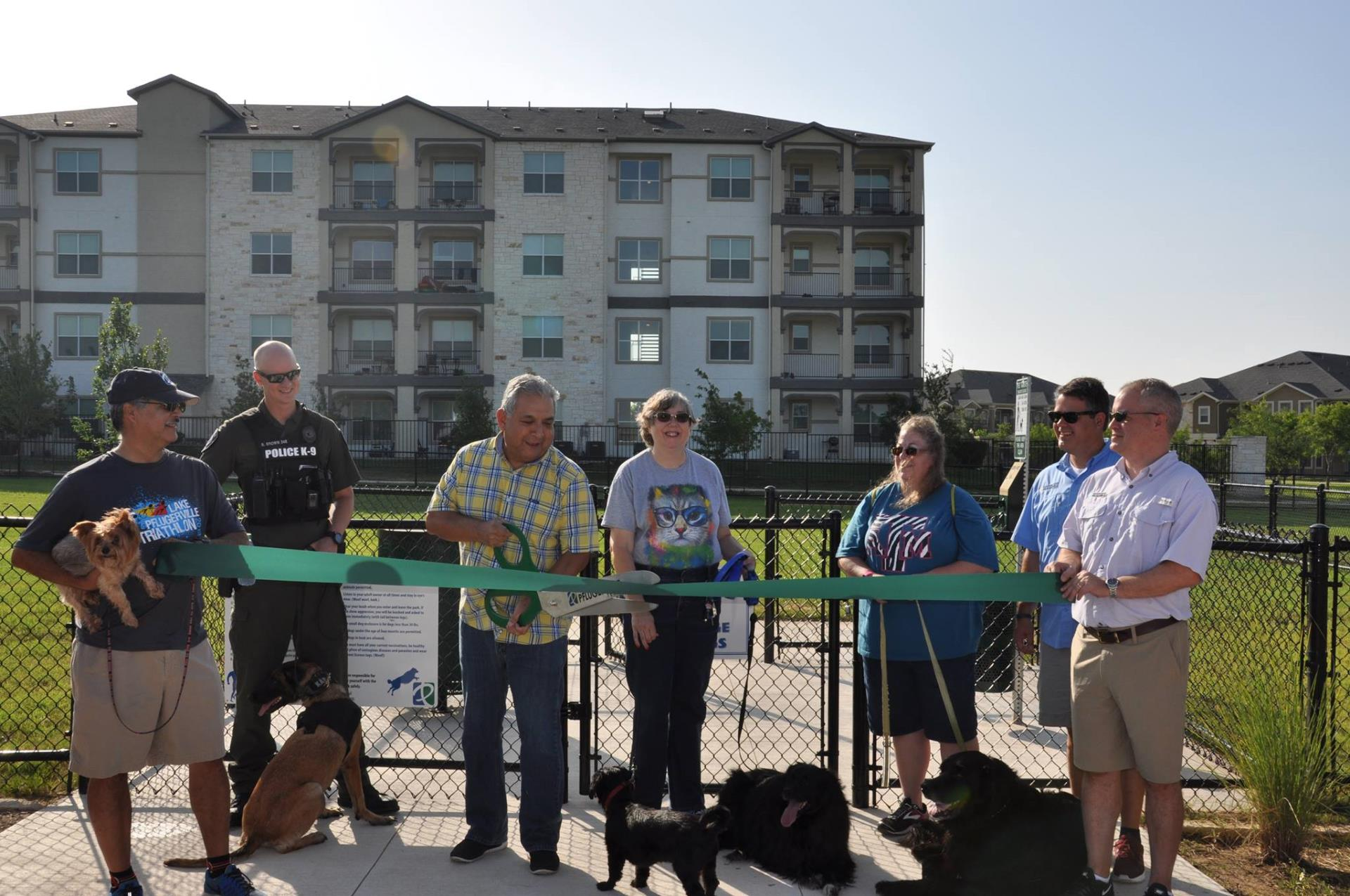 stone hill dog park opening 1